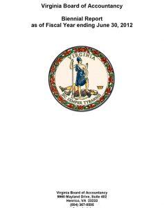 Biennial Report 2012